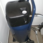 Kompressor im Maschinenraum
