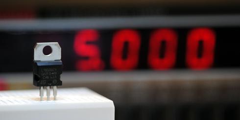 7805 Spannungsregeler