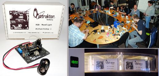 Attraktor Bausatz RGB-Moodlight