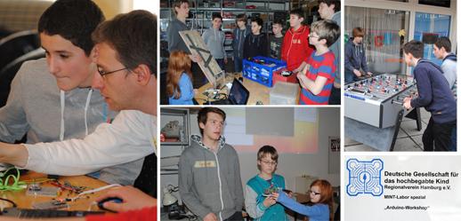 DGhK Arduino Workshop im Attraktor 22./ 23.3.2014