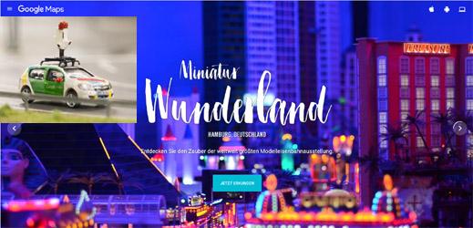 Streetview im Miniatur Wunderland. #MiniView